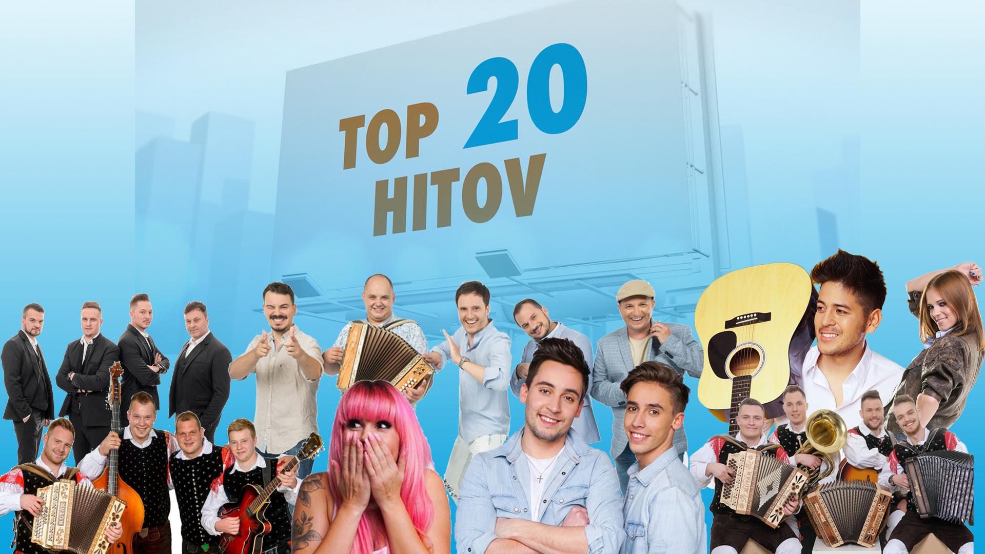 LESTVICA TOP 20